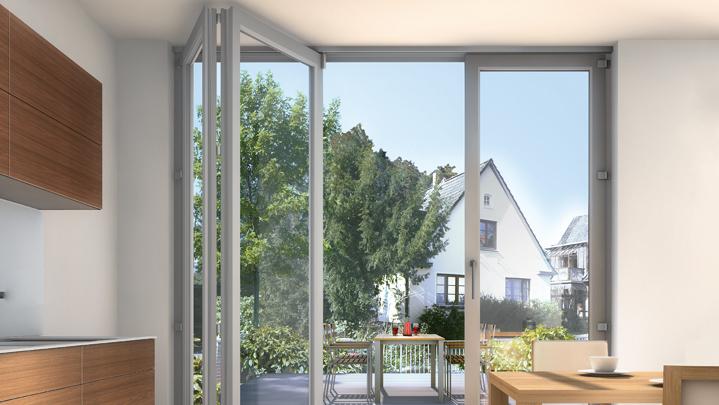 Inoutic-Schiebefenster-als-Falt-Schiebetur
